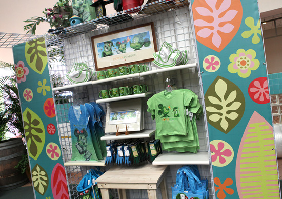 Merchandise for the 2013 Epcot International Flower & Garden Festival