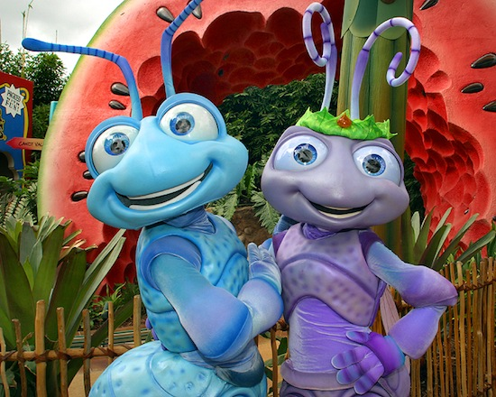 Flik and Princess Atta
