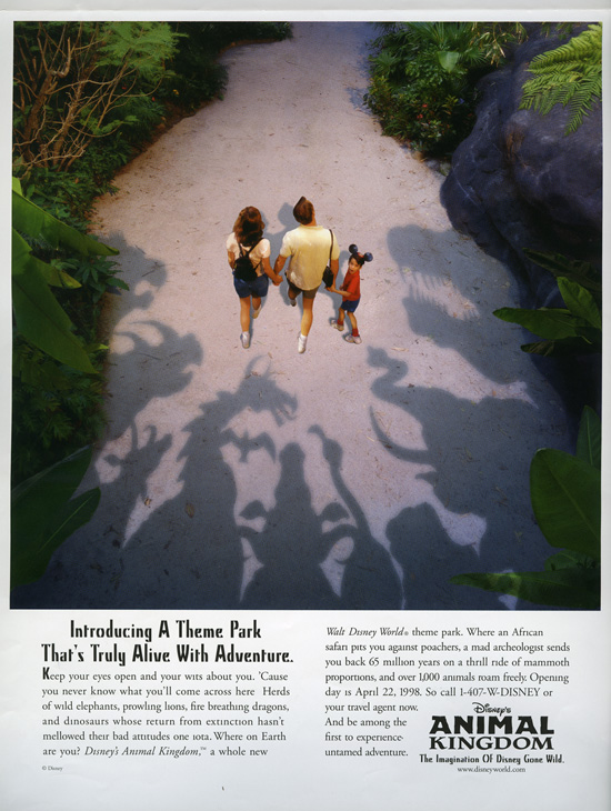 Disney's Animal Kingdom Opened on April 22, 1998