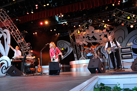 Flower Power Concert Series Continues with The Guess Who at Epcot International Flower &amp; Garden Festival at Walt Disney World Resort