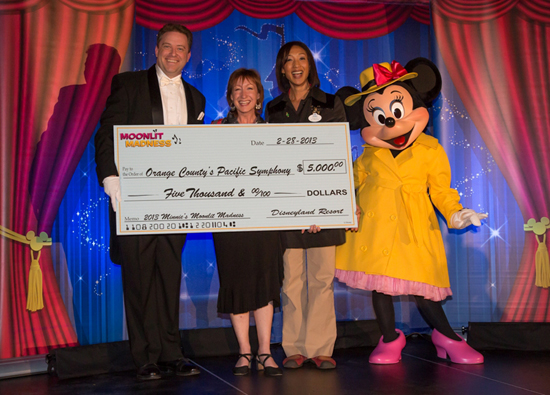 Orange County's Pacific Symphony was Awarded With $5000 at This Year's Minnie's Moonlit Madness Event