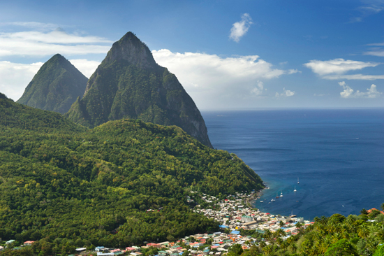 Visit the Caribbean  Including St. Lucia  with Disney Cruise Line