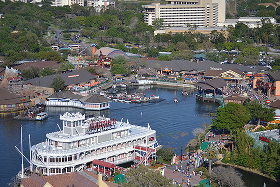 Flying High With Characters in Flight at Downtown Disney