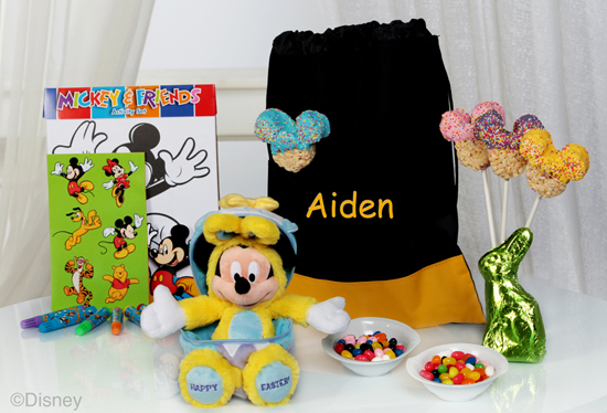 Disney Floral & Gifts Offers Many Different Types of Easter Baskets that Mickey Mouse can help the Easter Bunny 'Deliver' at the Walt Disney World Resort