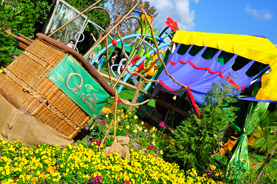 Believe in the Magic of OzSee it in Bloom at Epcot