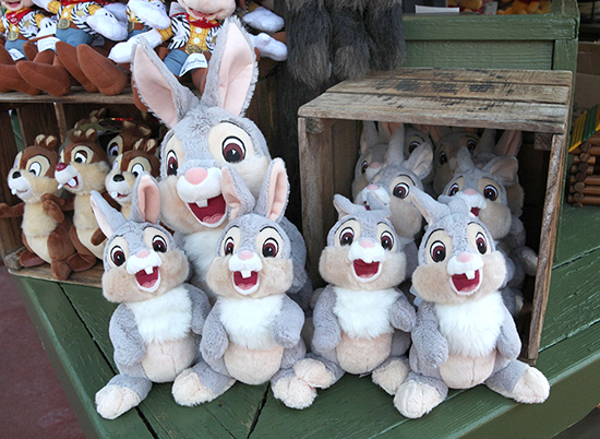 Twitterpated About Rabbit Merchandise at Disney Parks