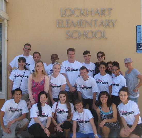 Disney Cruise Line VoluntEARS Salute National Literacy Month