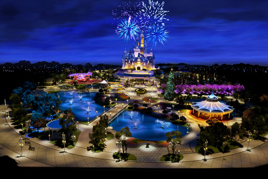 First Look: Shanghai Disneyland Model Unveiled