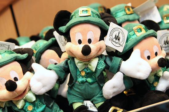 Some Lucky New Items at Disney Parks for St. Patrick's Day