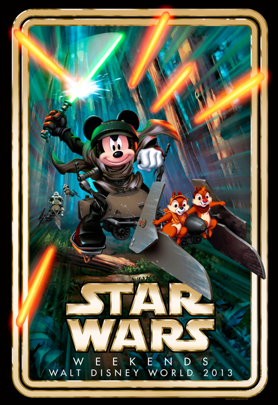 A Villain and Hero Highlight 'Star Wars' Weekends 2013 in Weekend I and Weekend II and a First Look at the 2013 Event Logo