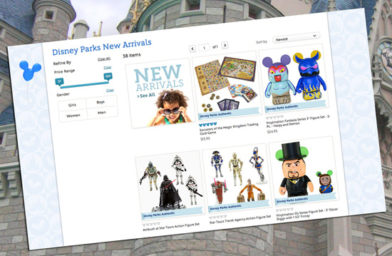 Enjoy a Special Promotion on March 26, 2013, Only as Disney Parks Online Store Assortment Expands