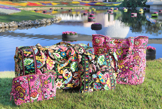 Disney-Inspired Handbags and Accessories by Vera Bradley to Bloom This Fall at Disney Parks