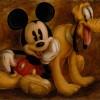 Darren Wilson's Mickey and Pluto
