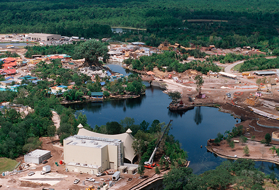 Vintage Walt Disney World Resort: Building a Theater in the Wild