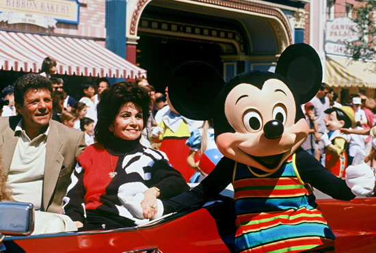 Annette Funicello at Disneyland Park, 1996