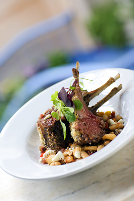 Herb-Crusted Rack of Lamb - Part of the Updated Blue Bayou Menu at Disneyland Park