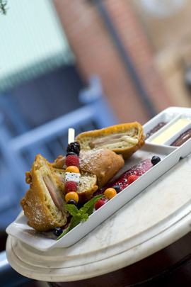 Monte Cristo Sandwich - Part of the Updated Blue Bayou Menu at Disneyland Park