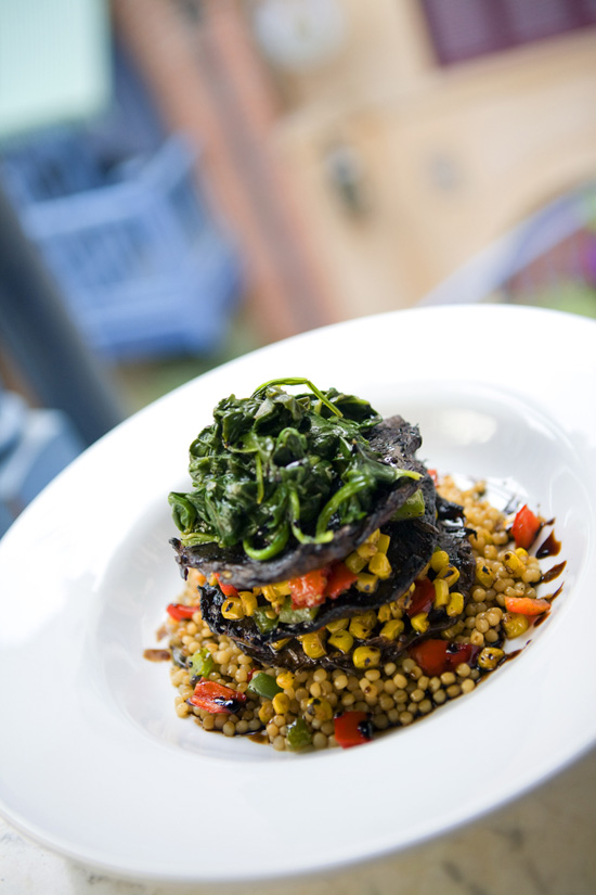 Portobello Mushroom and Couscous Macque Choux - Part of the Updated Blue Bayou Menu at Disneyland Park