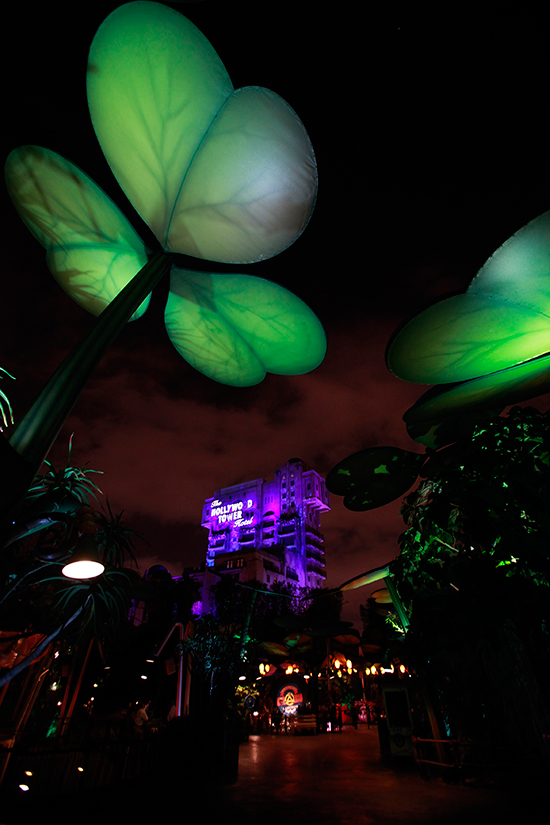 Disney Parks After Dark: a bugs land at Disney California Adventure Park