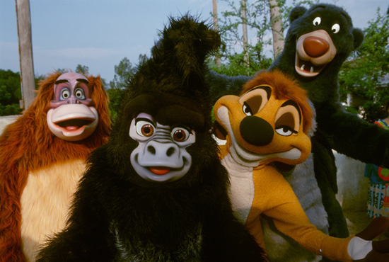 Caption This: Jungle Friends at Disneys Animal Kingdom