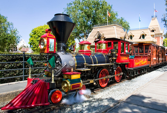 Meet the Steam Engines of the Disneyland Railroad: C.K. Holliday