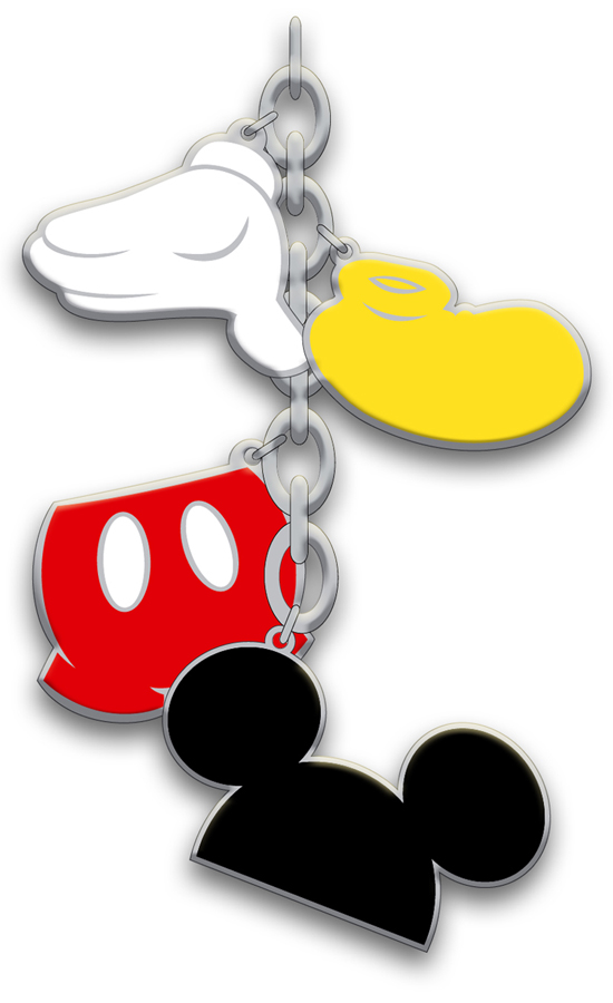 Dangle That Will Appear on New HARVEYS for Disney Couture 'Disney Patchwork' Seatbeltbags