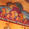 Donkey's And Other Playful Animals Fill the Sky Inside Island Mercantile at Disney's Animal Kingdom Theme Park