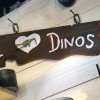 I Love Dinos Sign at Chester and Hester's Dinosaur Treasures in Dinoland, U.S.A. at Disney's Animal Kingdom