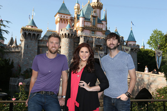 Lady Antebellum Celebrates Upcoming Album Release with Golden Performance at the Disneyland Resort