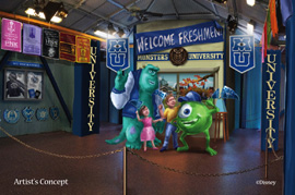 Attend Monsters University at Disney Parks This Summer