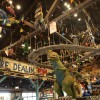 "Dinosaurs Say ""Good Buy"" at Chester and Hester's Dinosaur Treasures in Dinoland, U.S.A. at Disney's Animal Kingdom"