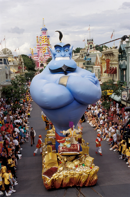 Walt Disney World Resort's 25th Anniversary Parade, Remember the Magic, on Main Street, U.S.A., at Magic Kingdom Park