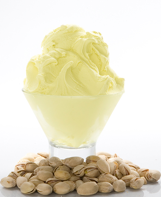 Pistachio Ice Cream at the New L'Artisan des Glaces, Artisan Ice Cream & Sorbet