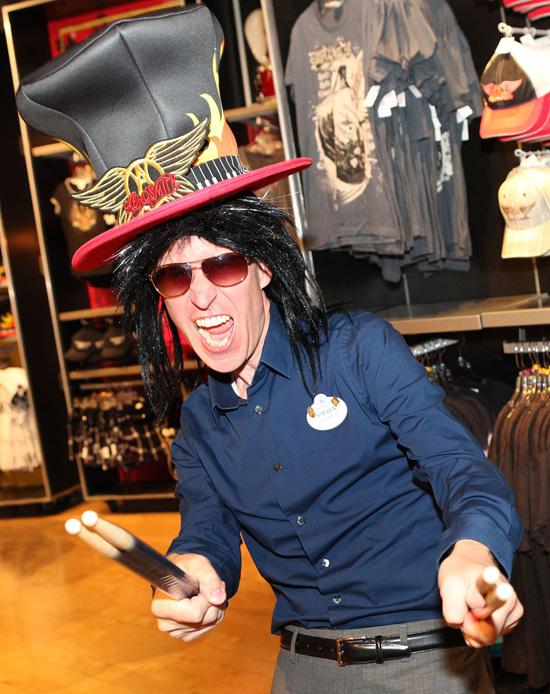Disney Parks Blog Author Steven Miller at Rock Around the Shop at Disney's Hollywood Studios