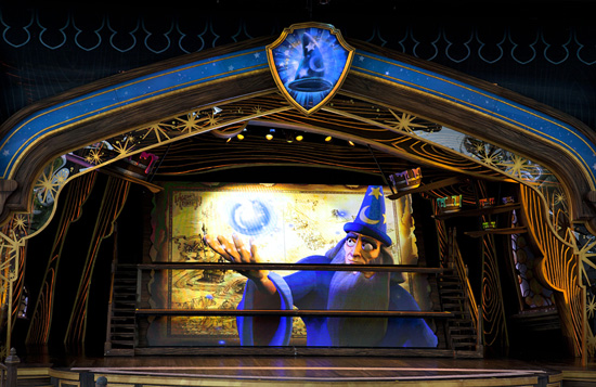 Yen Sid in 'Mickey and the Magical Map' at Disneyland Park