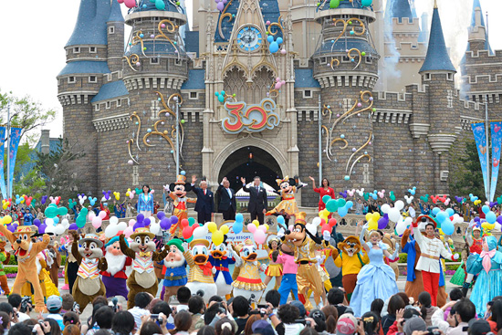 Tokyo Disney Resort Celebrates 30th Anniversary, Begins 'Happiness Year'