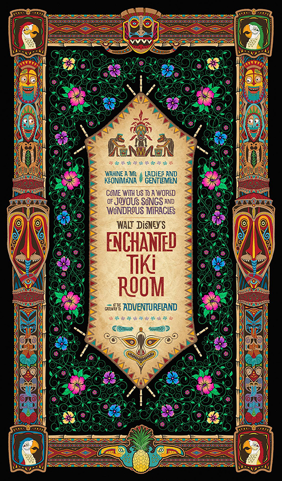 Walt Disney's Enchanted Tiki Room 50th Anniversary Merchandise Event at the Disneyland Resort