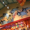 Wildebeest And Other Playful Animals Fill the Sky Inside Island Mercantile at Disney's Animal Kingdom Theme Park