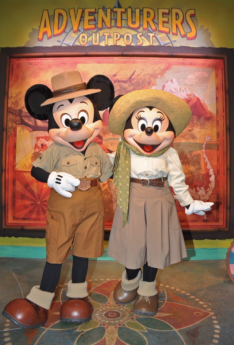 can you meet mickey mouse at animal kingdom