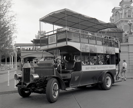 The Omnibus, an 'A' Ticket Attraction at Magic Kingdom Park