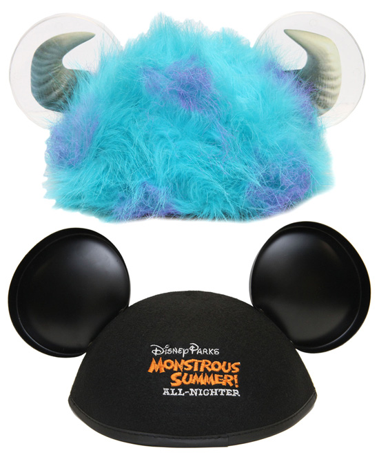 Ear Hats, Part of the 'Eye-mazing' Merchandise for Monstrous Summer All-Night Party
