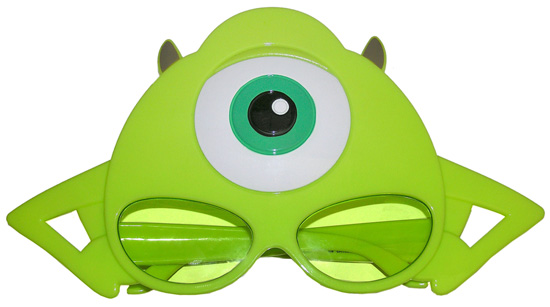 Mike Wazowski Sunglasses, Part of the Eye-mazing Merchandise for Monstrous Summer All-Night Party