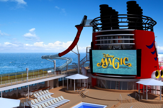 A Closer Look at the AquaDunk Thrill Slide on the Disney Magic