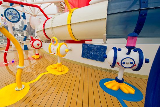 The AquaLab on the Disney Fantasy