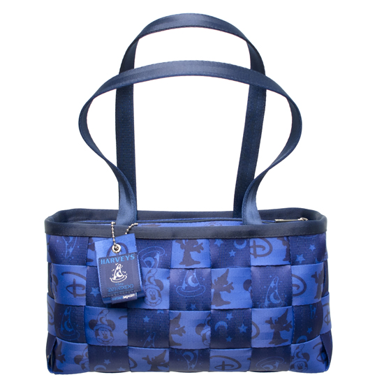 The New Seatbeltbags from HARVEYS features Sorcerer Mickey and Classic D's, and was Created Especially for This Year's Expo