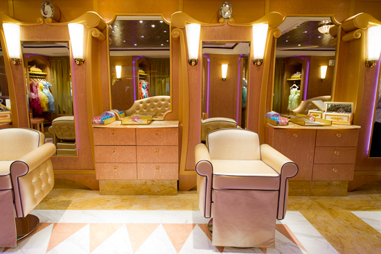 The Bibbidi Bobbidi Boutique on the Disney Fantasy