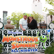 Guests at Disney California Adventure Park During the Monstrous Summer 'All-Nighter'