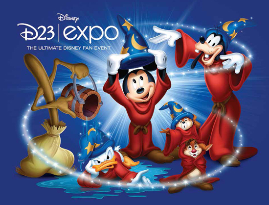 Find Characters Like Goofy, Donald Duck and Chip n' Dale Trying to Make Their Mark as a 'Sorcerer's Apprentice' at the D23 Expo