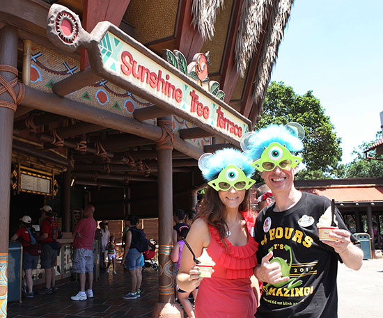 Lovely Afternoon Treat at the Sunshine Tree Terrace in Adventureland at Magic Kingdom Park