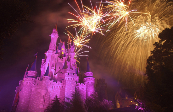 Disney Parks After Dark: Wishes Nighttime Spectacular at At Magic Kingdom Park